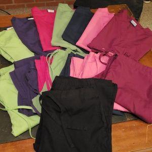 SEVEN scrubs sets + bonus pant